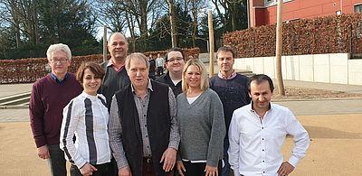 SPD Kandidaten zur Bezirkswahl in Wahlkreis 1